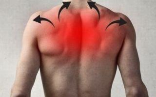Болит спина в области лопаток справа и слева, после сна: в чем причина и к какому врачу обращаться