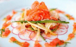 Салат с семгой «Русалочка»: рецепты полезных блюд на каждый день
