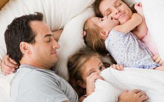 Совместный сон с ребенком: за и против, главные принципы, мнение доктора Комаровского