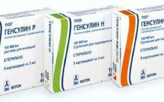 Препараты для снижения сахара в крови (инсулины): особенности применения