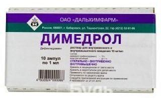 Уколы Анальгина с Димедролом: показания к применению препарата, дозировка детям и взрослым