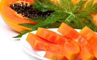 Папайя: пищевая ценность и химический состав, противопоказания к употреблению, рецепты с экзотическим фруктом