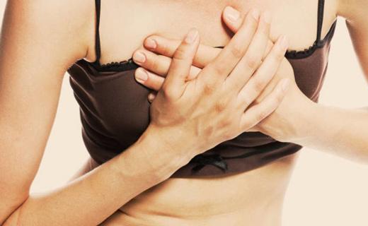 На что указывает обильное потовыделение и боли в груди?