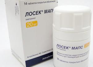 Лосек мапс: 10, 20 мг: инструкция по применению, от чего помогает, аналоги