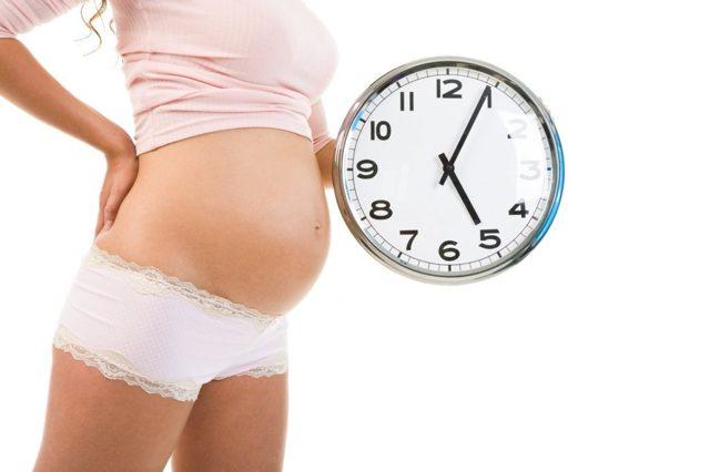 Предвестники родов у первородящих и повторнородящих на 38, 39 неделе