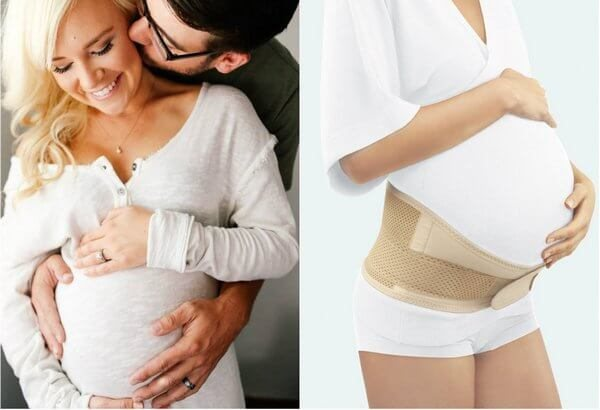 Когда начинать носить бандаж при беременности, как одевать бандаж, противопоказания