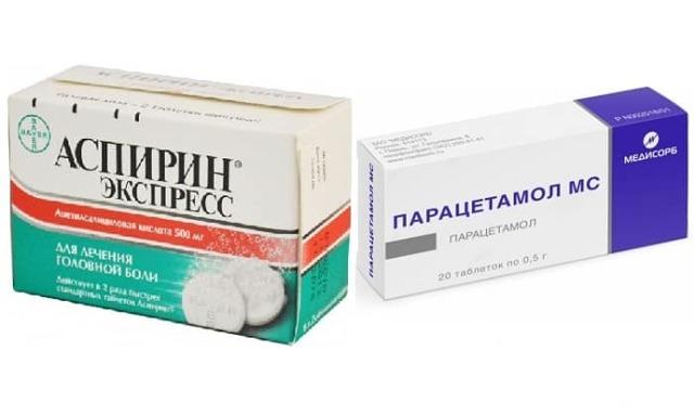 Совместимость Парацетамола с Аспирином, Ибупрофеном, антибиотиками