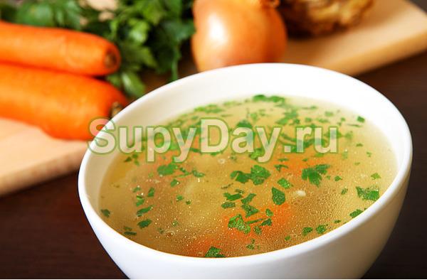Чечевичный суп на курином бульоне | ОкейДок