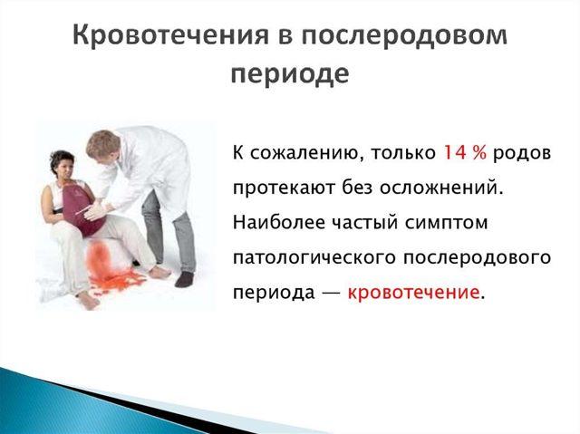 Послеродовые кровотечения: сколько длится, причины, неотложная помощь