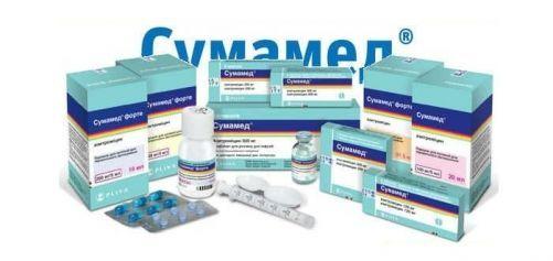 Сумамед форте 200 мг/5 мл: инструкция по применению суспензии для детей