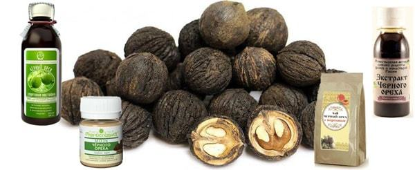 Черный орех настойка применение - Настоечки