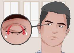 Инородное тело глаза: что делать, если что-то попало в глаз под верхнее веко, как извлечь
