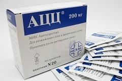 АЦЦ: инструкция по применению порошка, шипучих таблеток АЦЦ для детей и взрослых