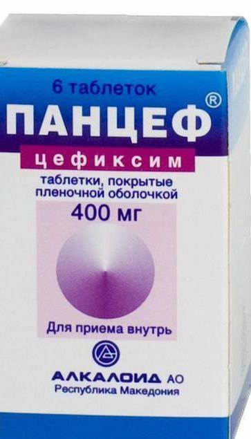 Цефиксим 400 мг таблетки, суспензия для детей: инструкция по применению, аналоги