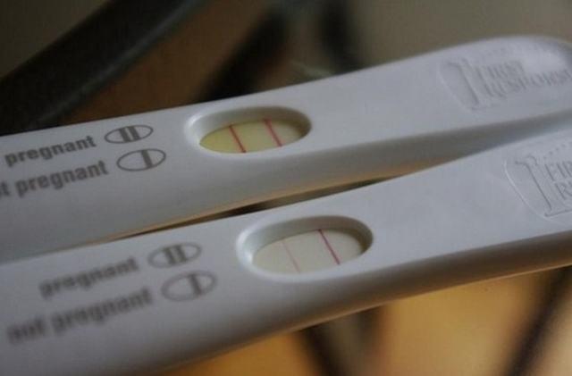 Слабая вторая полоска на тесте на беременность: что значит при поставленном диагнозе «бесплодие».