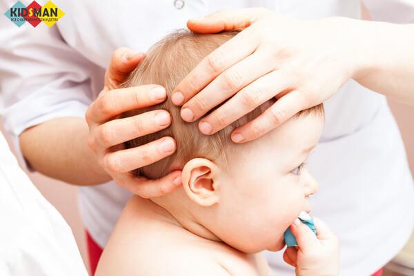 Потница у детей: симптомы и лечение, фото потницы на лице и попе