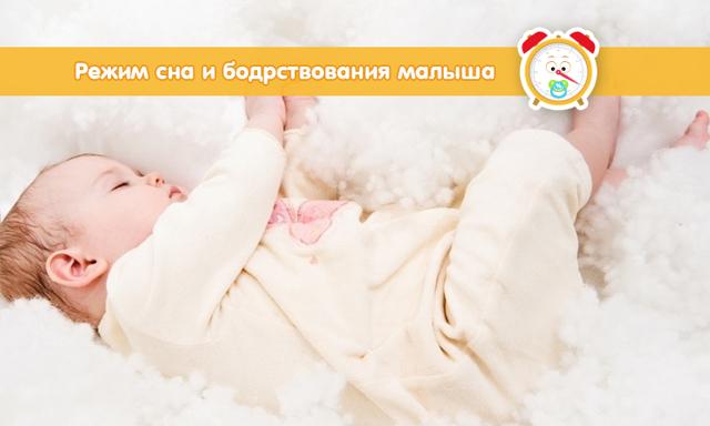 Сон новорожденного ребенка: режим сна и бодрствования, почему ребенок не спит