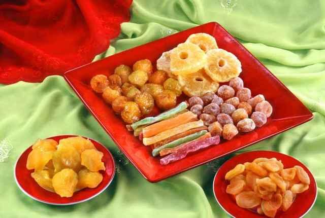 Цукаты – вред и польза, особенности выбора, пищевая ценность цукатов, состав, противопоказания.
