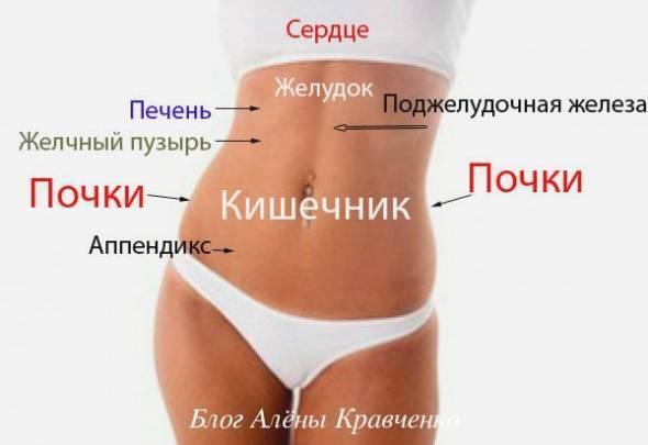 Боль в левом боку на уровне талии спереди и со спину у мужчин и женщин: причины