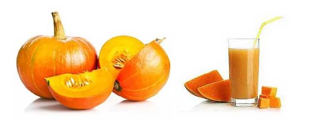 Полезные свойства тыквенного сока, противопоказания к употреблению, состав и калорийность.