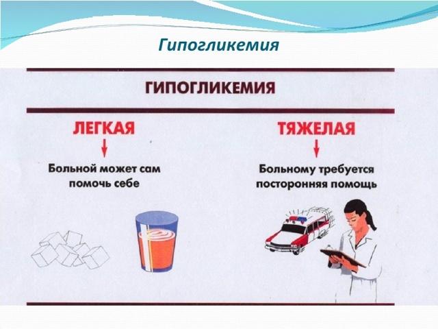 Пониженный сахар в крови – гипогликемия, причины, симтпомы, лечение, диета