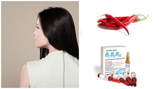 Аптечная маска против выпадения волос