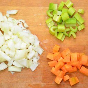 Мирпуа: польза, вред смеси, пищевая ценность, химический состав суповой приправы