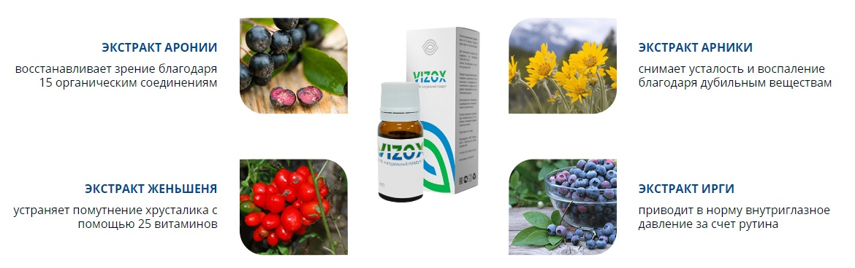 Vizox для восстановления зрения в Хабаровске